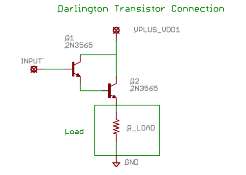 Darlington Transistor Circuit Diagram Download