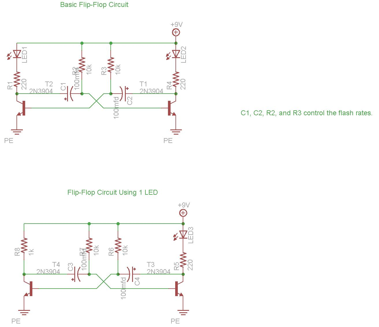 Basic Flip-Flop Circuit Diagram Download