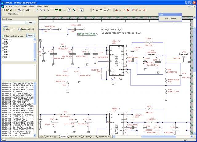 Schematic software for Free online cad program