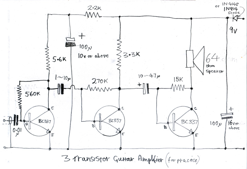 Free Download Amp Schematic - ~ Wiring Diagram Portal ~ •