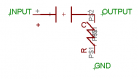 RC High Pass Filter Circuit Schematics