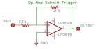 Schmitt Trigger Circuit Schematic Diagram
