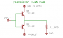 Transistor Push-Pull Circuit Diagram