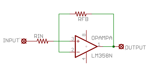 Unity Gain Op Amp Circuit Schematics Download