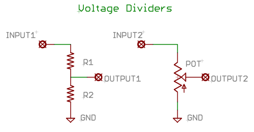 Voltage Divider Circuit Diagram Download